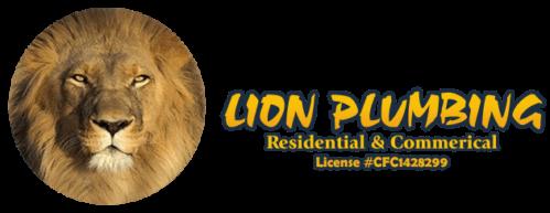 Lion Plumbing Logo
